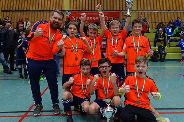 E-Junioren von der JSG Altenkirchen I sind Hallenkreismeister