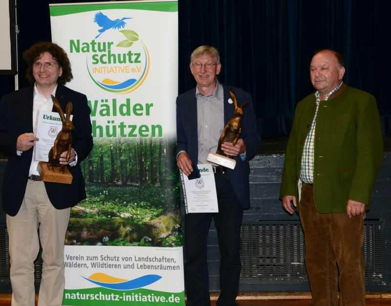 Harry Neumann erhält Sonder-Ehrenpreis für Natur- und Artenschutz
