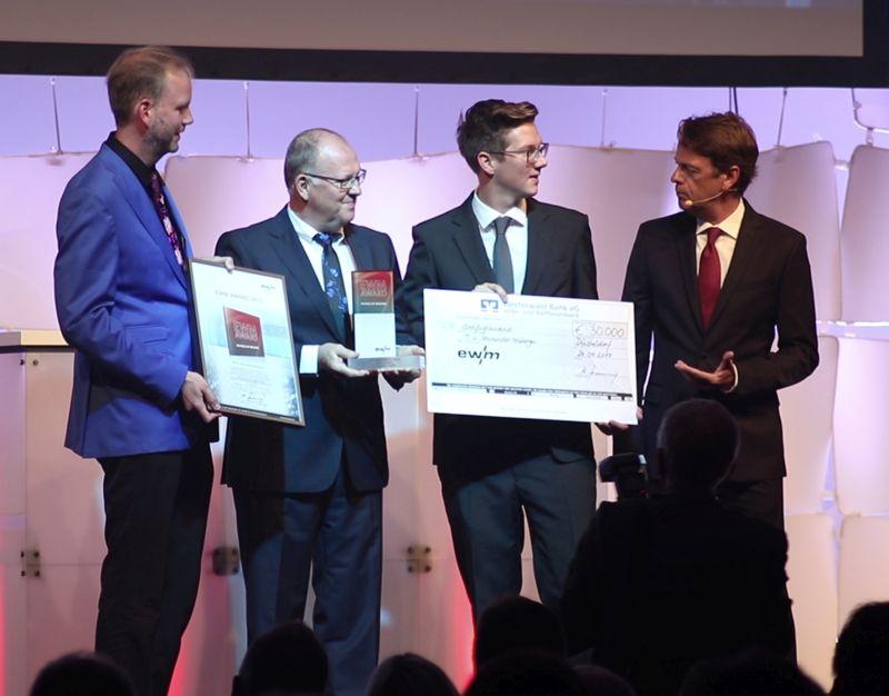 EWM fördert zukunftsweisendes Projekt mit 30.000 Euro