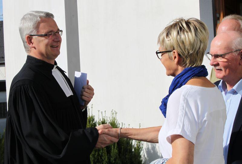 Abschied von Eduard Schmidt: Evangelischer Pfarrer verlässt Hof