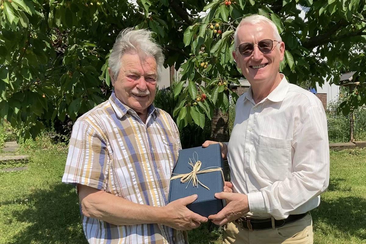 Edgar Neustein feiert 75. Geburtstag