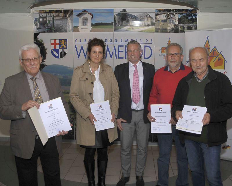 Verleihung der Ehrenamtspreise in Wallmerod