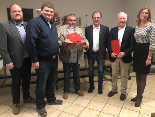 SPD-Ortsvereine: B�tzing-Lichtenth�ler ehrt verdiente Genossen