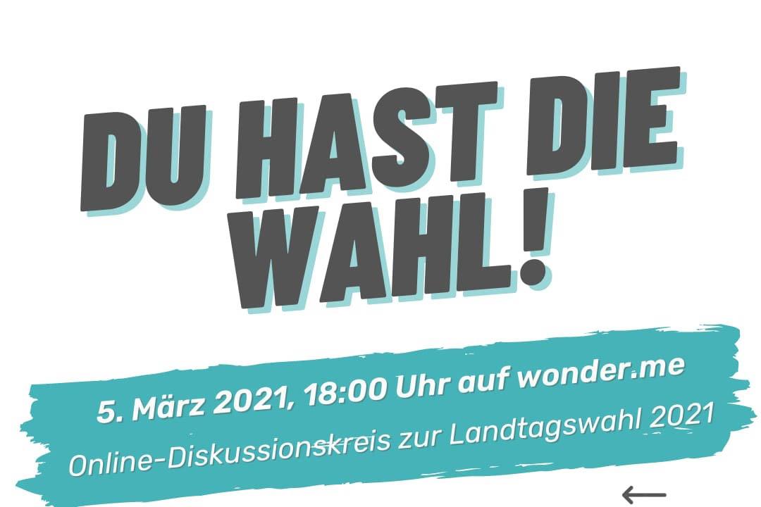 Landtagswahl: Demokratie-Stammtisch Neustadt informiert