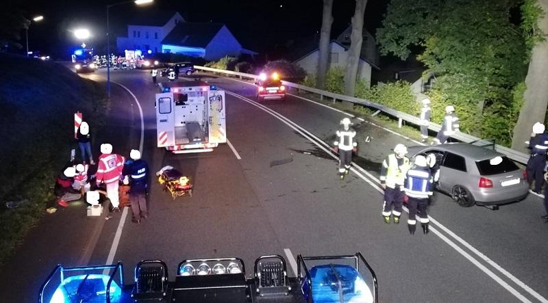Schwerer Unfall ereignete sich zwischen Wissen und Roth