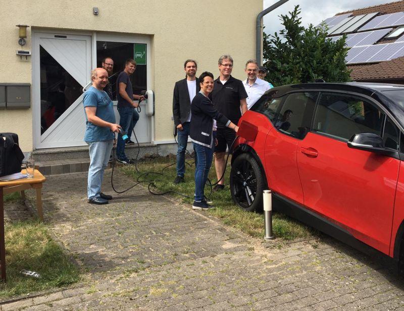 Im Westerwaldkreis wächst das Netz an Ladesäulen für Elektroautos