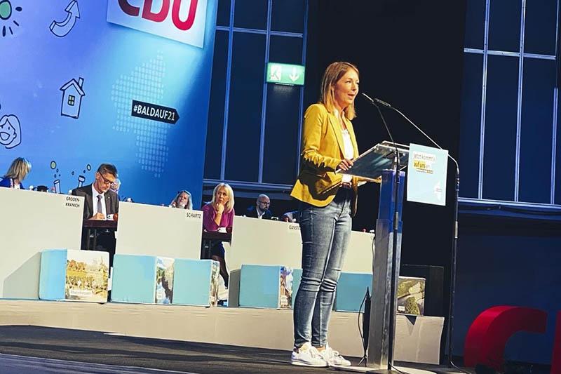 Ellen Demuth auf Listenplatz 4 der Landesliste der CDU