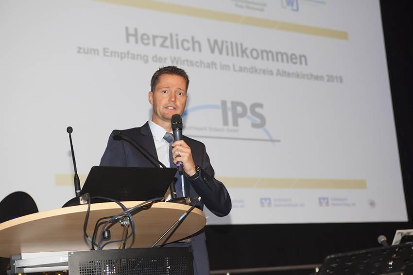 Empfang der Wirtschaft im IPS Industriepark Etzbach gut besucht