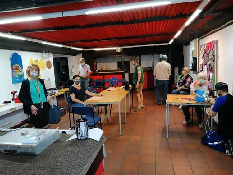 Reparaturwerkstatt SPD-Engers arbeitet wieder