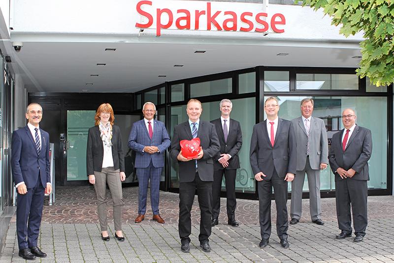 Umbau der Sparkassen-Geschäftsstelle in Dierdorf beendet
