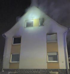Gebäudebrand mit hohem Sachschaden