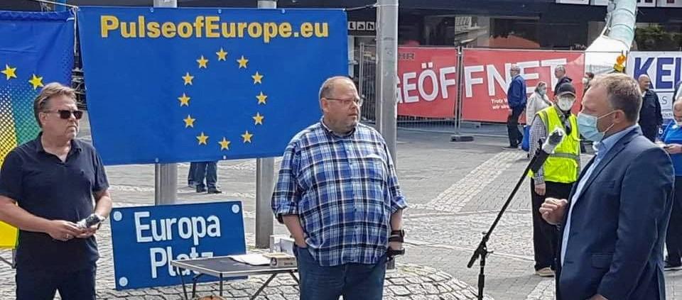 Demo Neuwied: Wird in Brüssel die Stagnation der EU verwaltet?