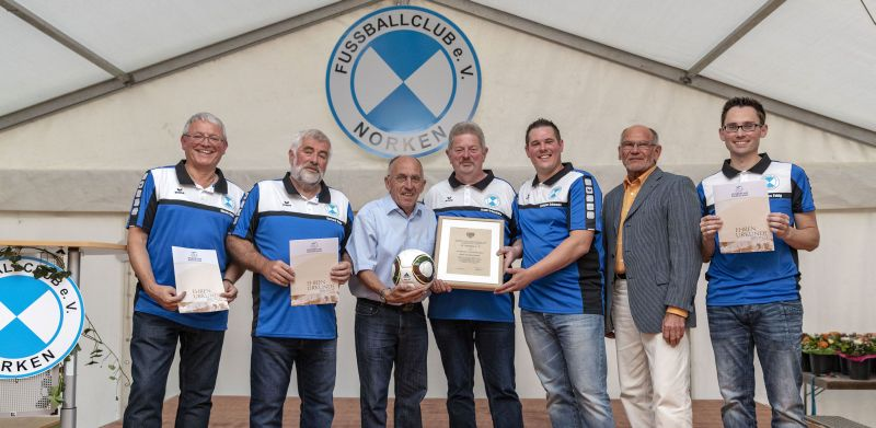 Festkommers 50 Jahre FC Norken e.V.