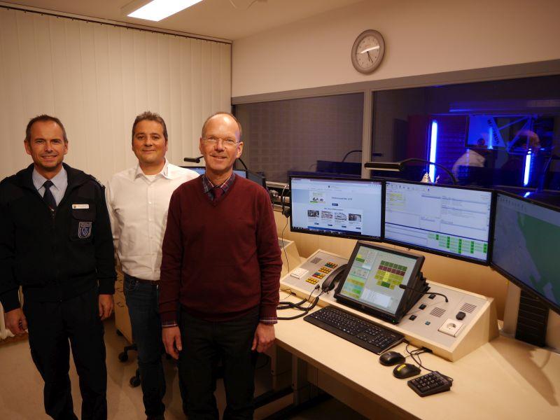Neue Feuerwehreinsatzzentrale H�hr-Grenzhausen in Dienst gestellt