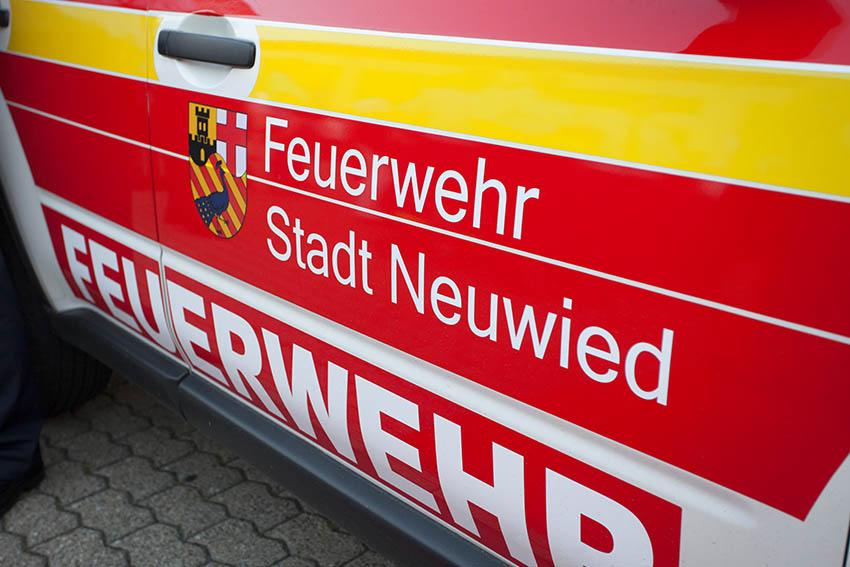 Feuerwehr bildet an der Ludwig-Erhard-Schule aus