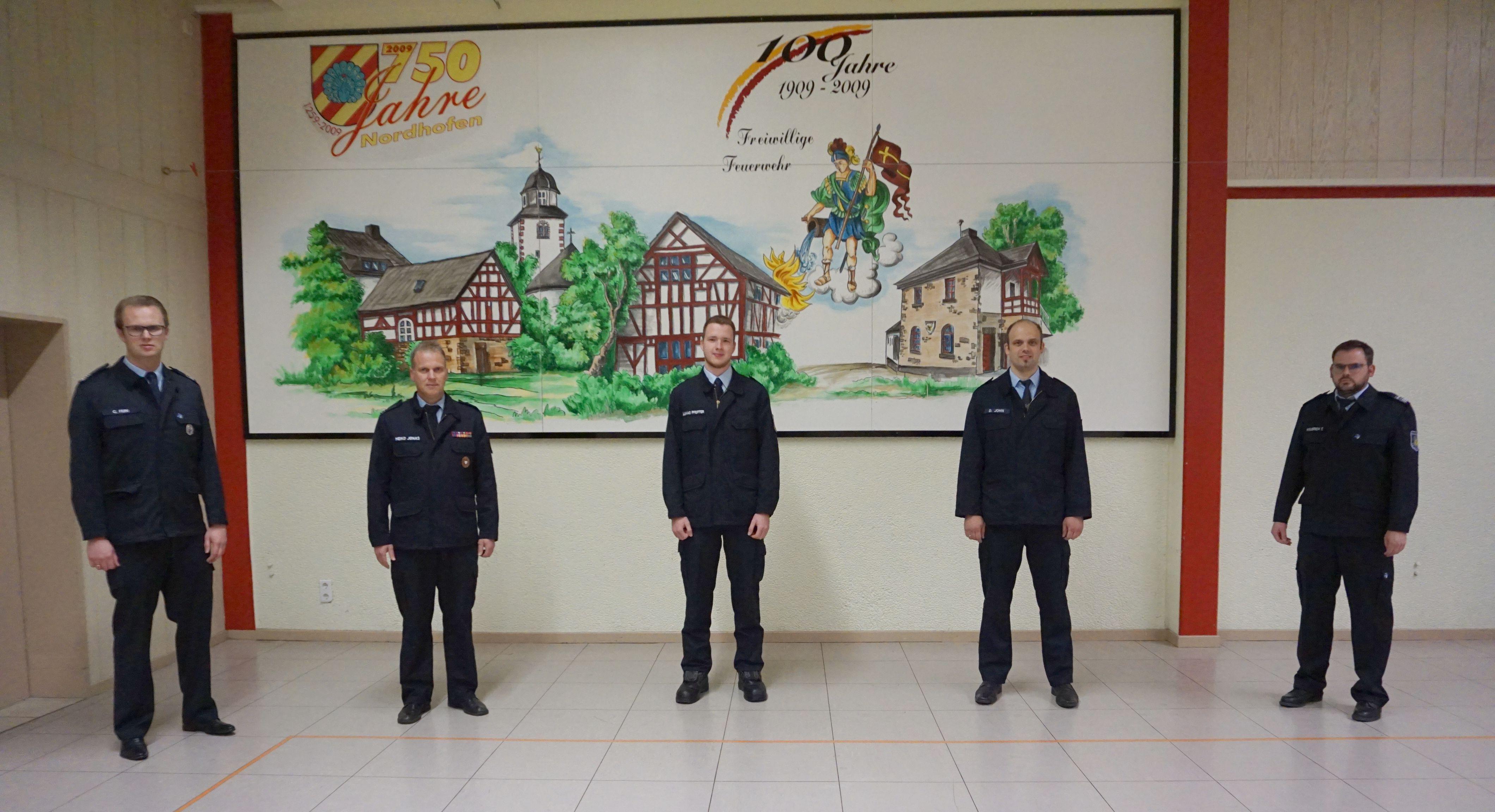 Neuwahl des Wehrführers in der örtlichen Einheit Nordhofen
