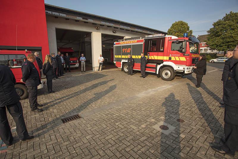 Verpflichtungen und Beförderungen bei Feuerwehr VG Puderbach
