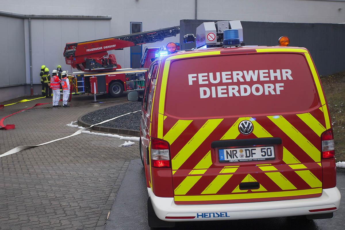 Feuerwehreinsatz: Brand bei TWE in Dierdorf