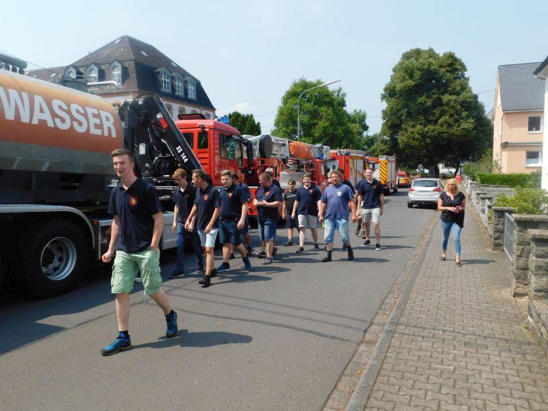 Die FFW Herschbach im Feier-Marathon