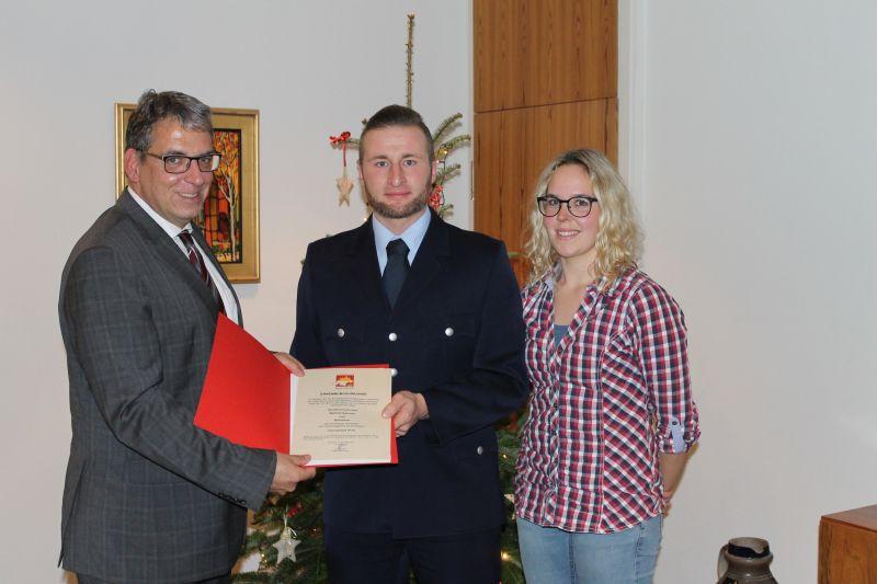 Matthias Reßmann übernimmt offiziell die Wehrführung in Girod