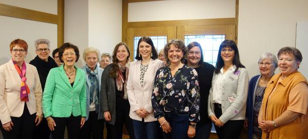 F�hrungswechsel bei der Frauen-Union: Sarah Baldus ist neue Kreisvorsitzende