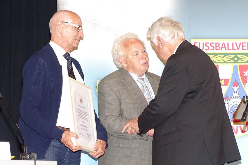 Fußballkreis Westerwald/Sieg vergibt hohe Auszeichnungen
