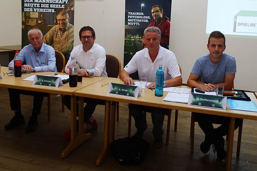 Vorstandstreff im Fußballkreis WW/Sieg in Alpenrod