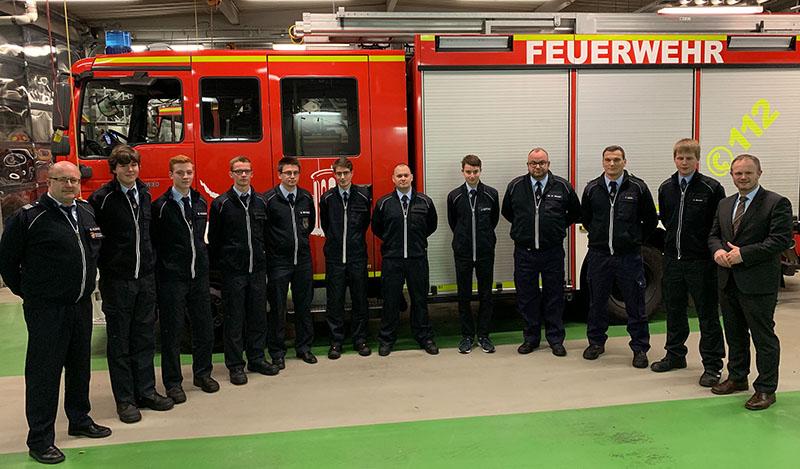 Zehn neue Mitglieder: Feuerwehr Neuwied bekommt Zuwachs