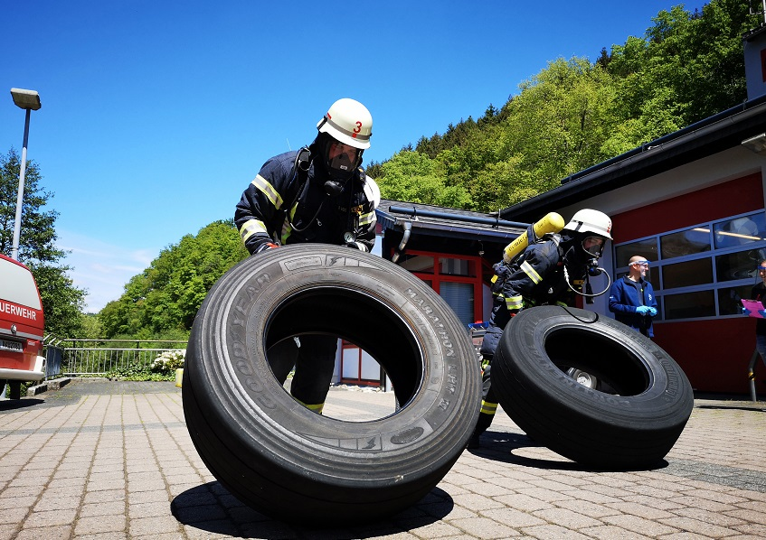 VG-Feuerwehr führt Belastungsübung in Eigenregie durch