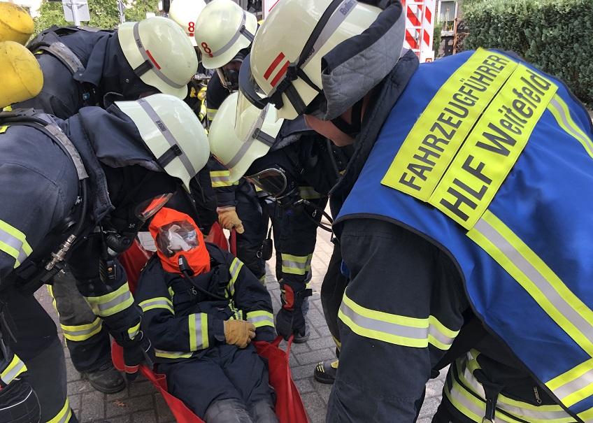 Facettenreicher Übungs- und Ausbildungstag bei der Feuerwehr Weitefeld