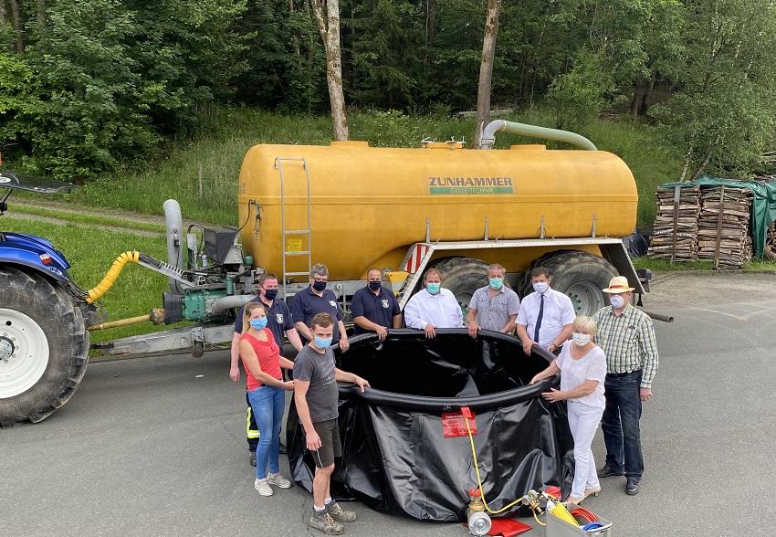 CDU Friesenhagen: Löschwasserbehälter für die freiwillige Feuerwehr
