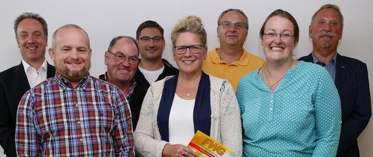 Andrea Ackermann f�hrt die FWG in der k�nftigen Verbandsgemeinde