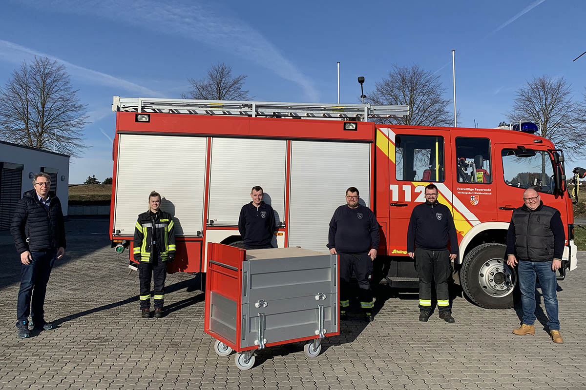 Förderverein der Feuerwehr Oberraden-Straßenhaus hilft