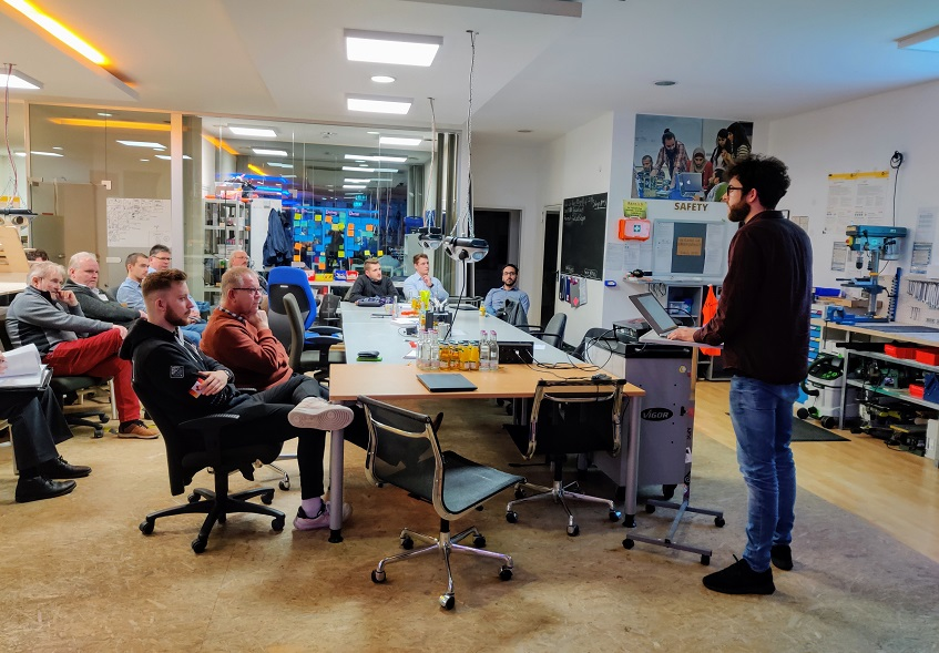 Mittelständler holten sich Anregungen im Fab Lab Siegen