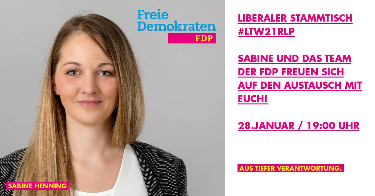 Liberaler Online-Stammtisch zur #LTW21