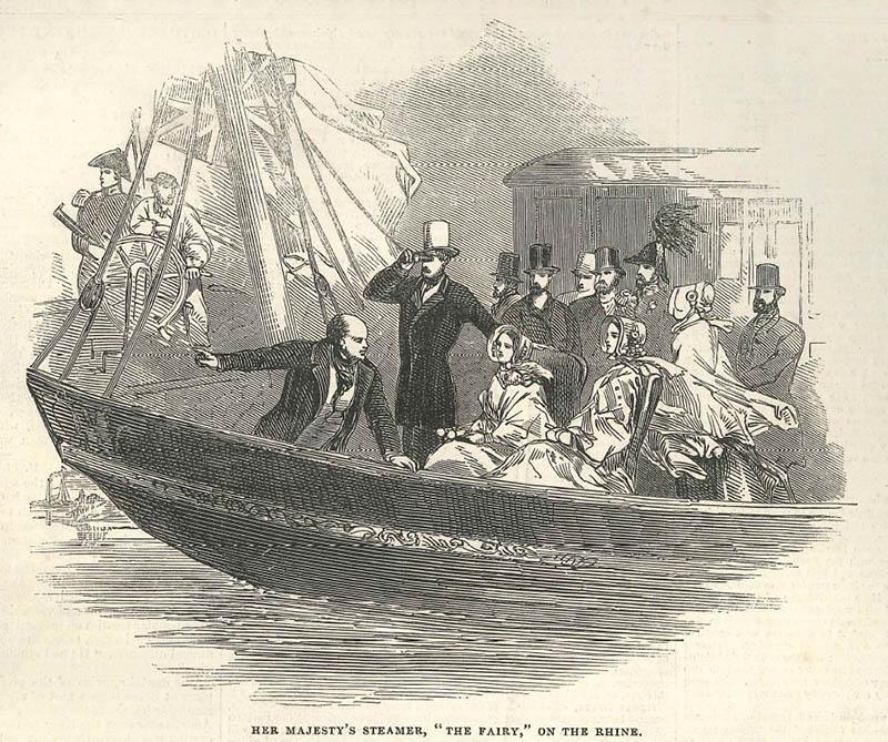 Vortrag: Die Rheinreise der englischen Königin Victoria im Jahre 1845