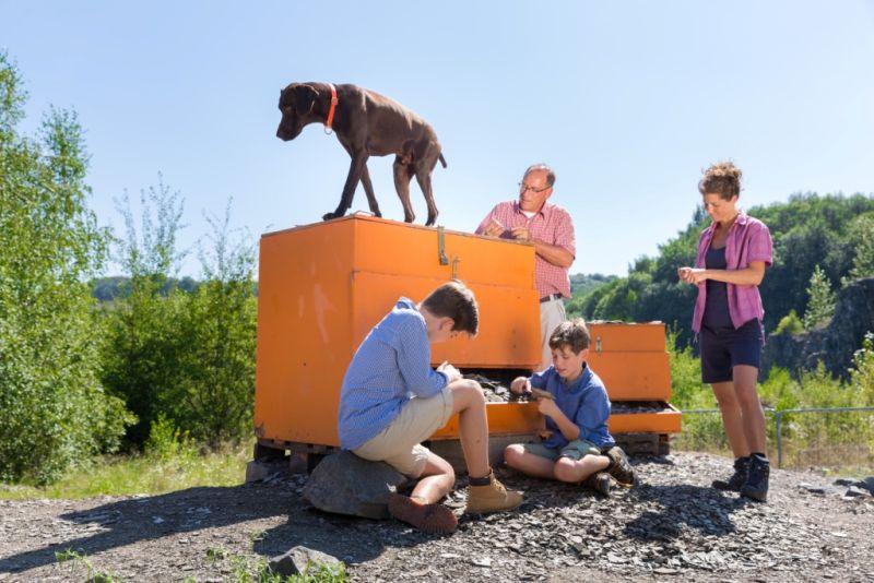Familienexkursion im Stöffel-Park. Foto: Stöffel-Park