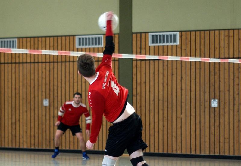 Faustball: Kirchen in der M�nnerklasse ohne Gl�ck