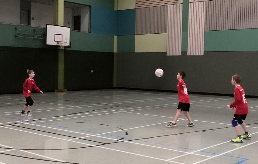 Kirchener U12-Faustballer ohne Satzverlust Landesmeister