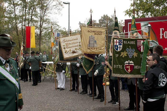 Bezirkskönigsfest bei den St. Georg Schützenbruderschaft Irlich