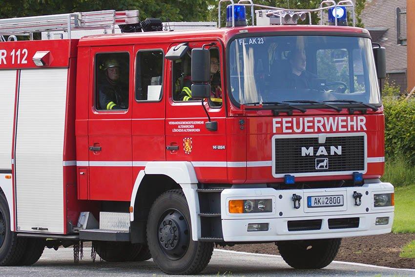 Waldbrand in Daaden: 150 Feuerwehrleute im Einsatz