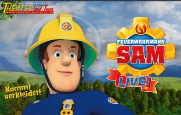 """""""Feuerwehrmann Sam – das große Campingabenteuer"""" - live"""