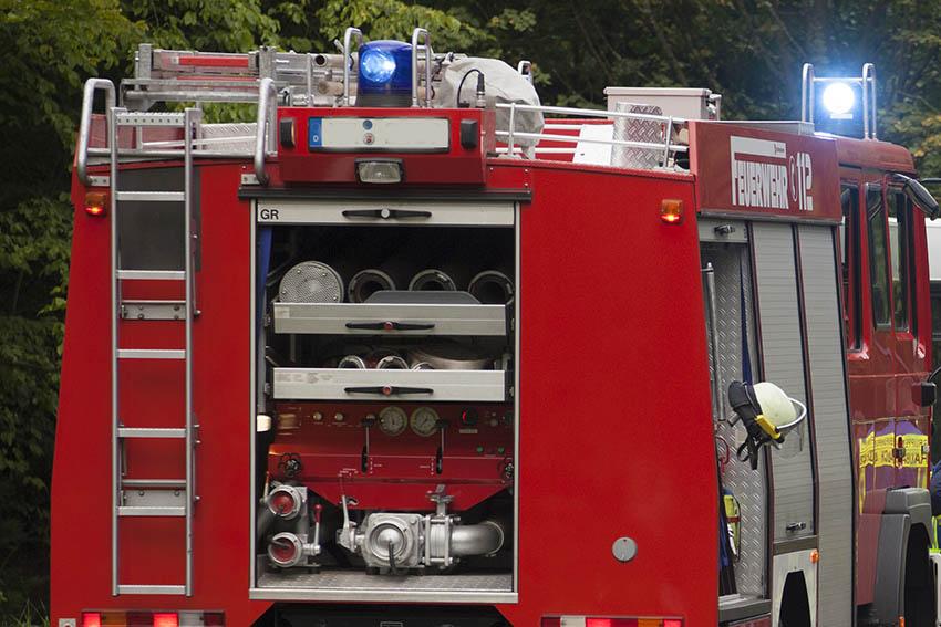 Kindertag des Jugendzentrums Hachenburg mit Feuerwehr