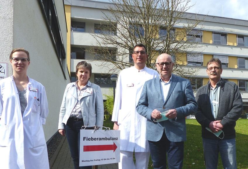 Corona-Pandemie: Fieberambulanz in Altenkirchen gestartet