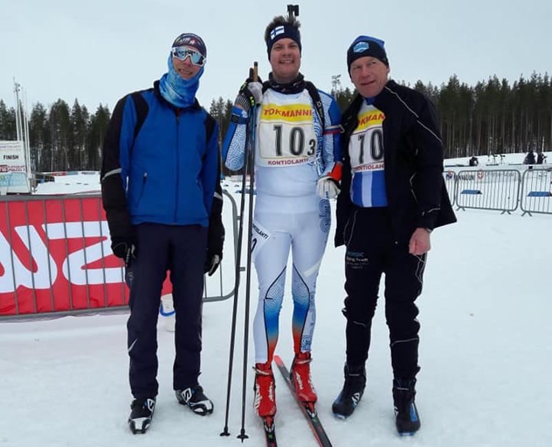 SRCler Puderbach bei der Biathlon Masters WM in Finnland