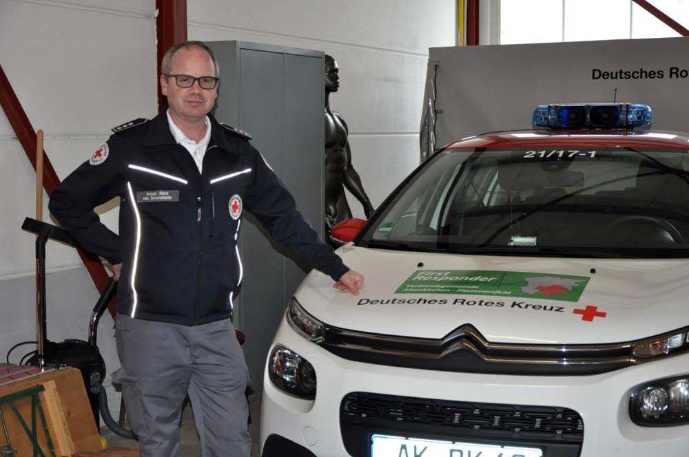 Leiter der First Responder Altenkirchen, Holger Mies (Foto: kkö)