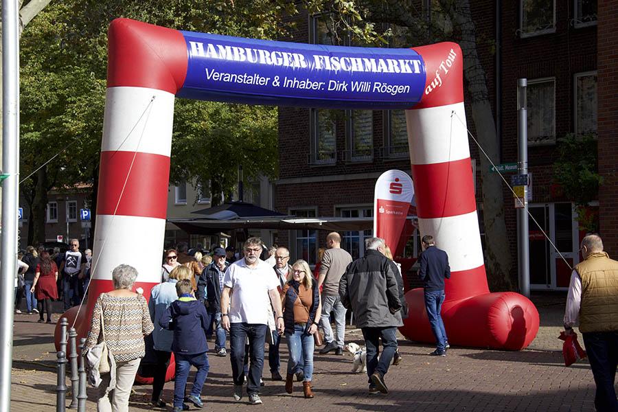 Hamburger Fischmarkt kommt nach Unkel