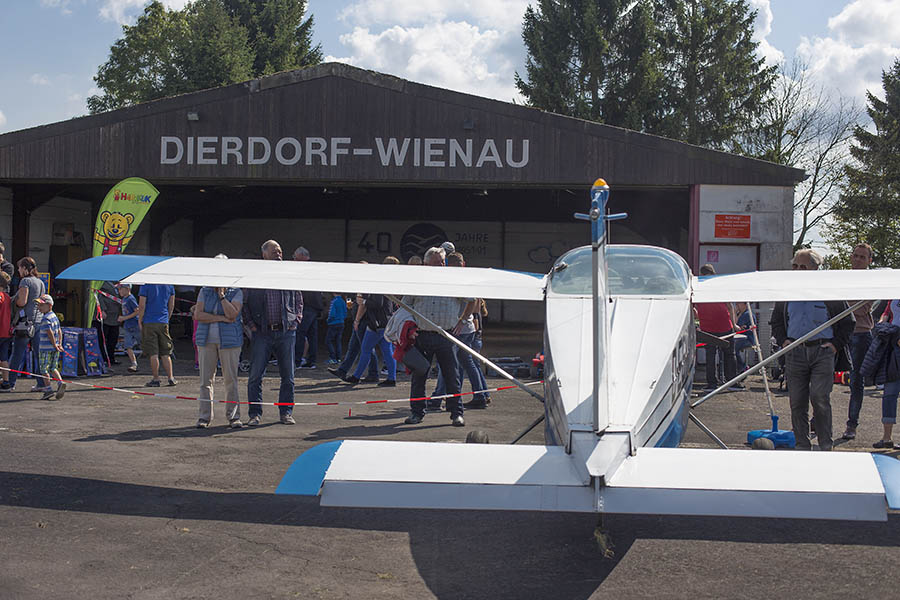 Flugfest in Wienau war sehr gut besucht