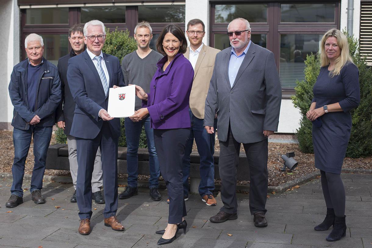 Puderbach erhält Förderung vom Land für erweitertes Gewerbegebiet