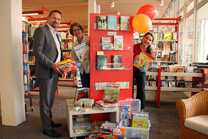 Bad Honnefer Stadtbücherei erhält große Spende des Fördervereins